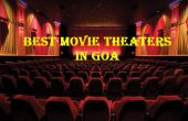 Movie theaters in Goa