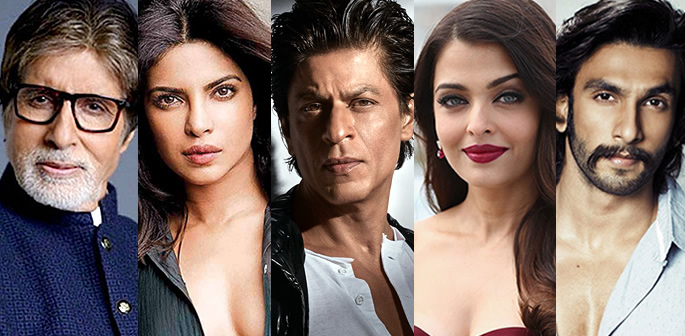 Bollywood's top 5 celebritie